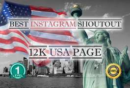 I will do a shoutout on my 17k usa instagram