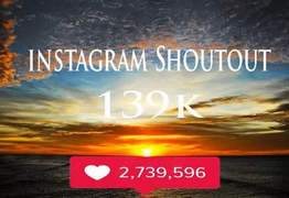 I will do promotion shoutout on 139k travel instagram page