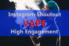 I will instagram shoutout on 40k vape page