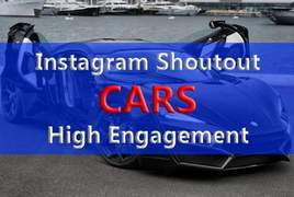 I will instagram shoutout on 65k car page