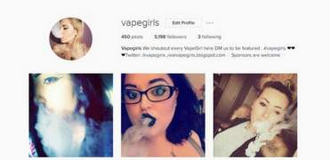 I will shoutout your brand on 2 vape instagram accounts