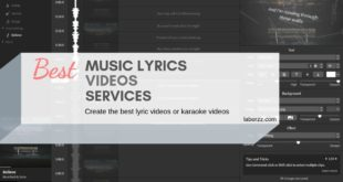 lyric video maker online