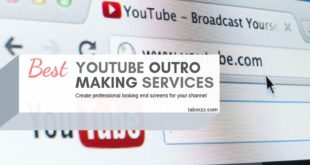 outro maker for youtube