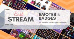 twitch emotes & badges